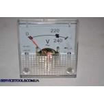 STURM бензогенератор PG8755 вольтметр