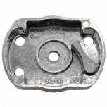 Храповик стартера на мотокосу бензотриммер 1 металлическая собачка (L47*63)