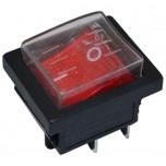 Кнопка для точильного станка 4 контакта 16А (с защитой от пыли)