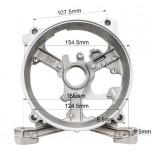 Крышка задняя статора бензогенератора (тип 1) 168F/170F 2-3,5 кВт.