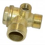 Обратный клапан на воздушный компрессор (9/16/21 мм.)