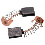 Щётки графитовые 6х11х15 пружина внутренняя защёлка 1 паз ограничителя