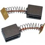 Щетки графитовые для перфоратора Sturm RH2514 (6,2х10х12) пружина 2 паза