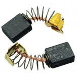 Щетки графитовые 6х10х13  пружина для полировки CROWN СТ13302/ WS 10-125T