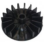 Крыльчатка на мотор воздушного компрессора (120*15*32 мм.)