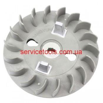 Крыльчатка вентилятор для бензогенератора 0,8кВт (ET-950)