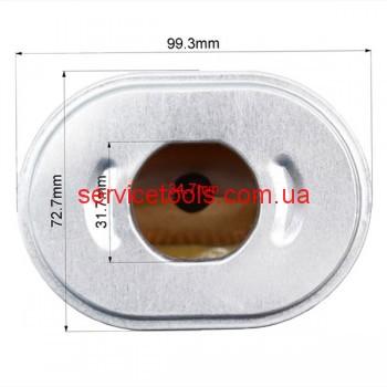 Фильтр воздушный для бензогенератора 168F/170F (тип Honda GX160)