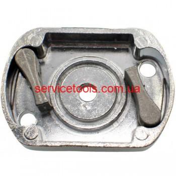 Храповик стартера на мотокосу бензотриммер 2 металлические собачки (L45*63)