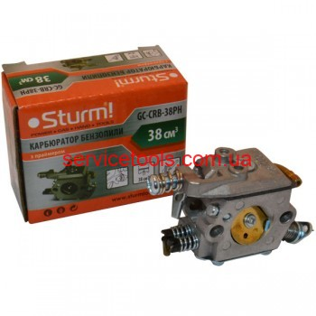 BauMaster бензопила GC99376X карбюратор (с подкачкой)