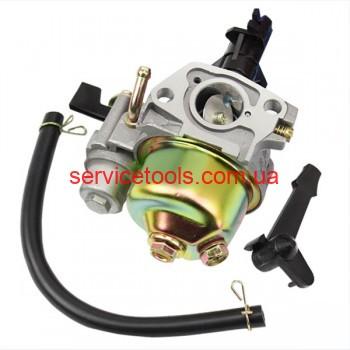 Карбюратор для бензогенераторов виброплит мотоблоков с моторами 168F/170F 2-3.5 кВт.