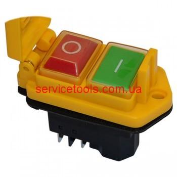 Кнопка бетономешалки с крышкой 5 контактов 15А
