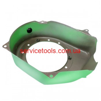 Корпус крыльчатки маховика (метал) для бензогенератора (к-кт 2шт.)168F/170F 2-3,5 кВт.