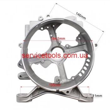 Крышка задняя статора бензогенератора (тип 1) 168F/170F  4-6 кВт.