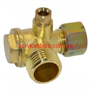 Обратный клапан на воздушный компрессор (резьба 20,5/16/9 мм.)