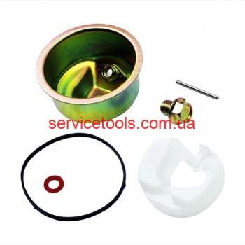 Ремкомплект карбюратора бензогенератор (4 детали+поплавок)177F/188F 4-6,5 кВт.