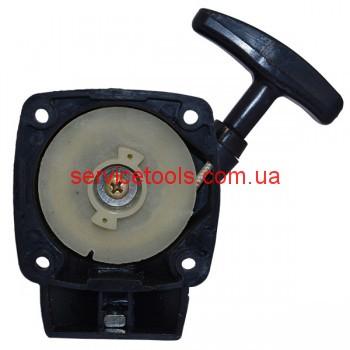 Стартер для мотокосы малый с отводом (бабочка храповик)