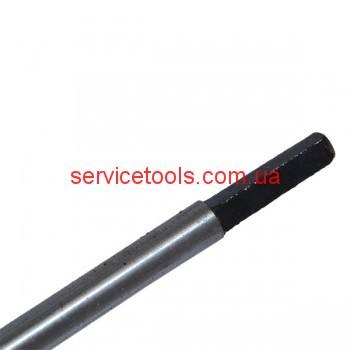 Вал привода на бензокосу квадрат L 153 см d 8mm